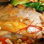 麺や 蓮と凜 - 黒カレー担々麺(チャーシュー:豚バラ)