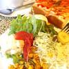 ハンプトンコート - 料理写真:ハム&チーズトーストのセット