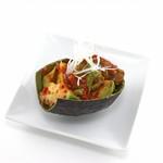焼肉ダイニング GYUBEI - アボガドキムチ アボガドをキムチとして漬け込んだ一品です。