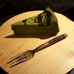 ロバ - 抹茶のベイクドチーズケーキ