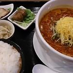 美食天堂 金威 - 激辛タンタン麺(ランチ)950円