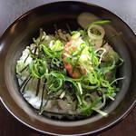大正麺業 - めんたい丼