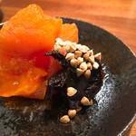 59757444 - 干し柿と蕎麦味噌