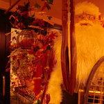 プリモピアット - なんと、サンタがお出迎え?