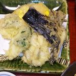 5976610 - 真鱈と野菜天麩羅 アップ