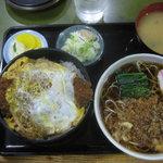 5976903 - カツ丼・ミニたぬき蕎麦セット