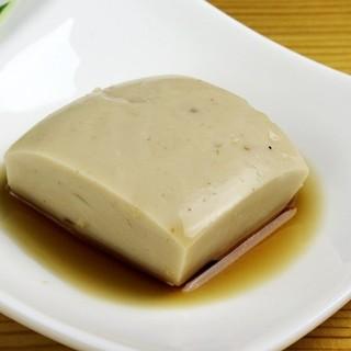 自家製じーまーみ豆腐が絶品!!