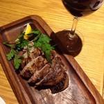 トドス - グリルと赤ワイン