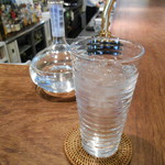 cafe causa - お水とお酒