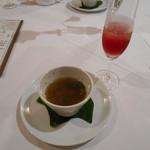 59765999 - スープ&ウェルカムドリンク♡