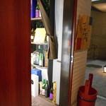 さが蔵 - 裏口エレベーター前です