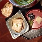 京都 権太呂 - 蕎麦豆腐