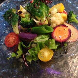 産地直送加賀野菜や毎朝仕入れる新鮮旬野菜!