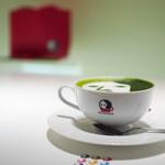よーじやカフェ - よーじや製抹茶カプチーノ