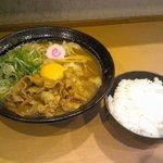 59769277 - 肉玉そばとご飯(無料)