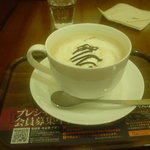 上島珈琲店 - 生チョコミルクコーヒー(L)