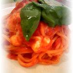 パスタロッソ - スパゲティカプレーゼ