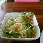 かふぇコロン - モーニングのサラダ