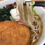 名代 箱根そば - 麺も普通