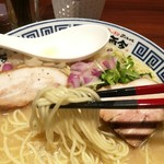 麺道 而今 総本家 - 細麺でーす!