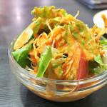 59778270 - サラダは美味いね。                         p(^_^)q