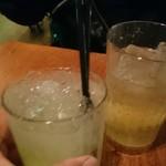 RIGOLETTO WINE AND BAR - (^^)/▼☆▼\(^^)カンパ~イ・・・コラコラ
