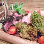 肉×ラクレットチーズ Tree House Diner - 2016.12 肉コンボ