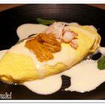 59780354 - 雲丹とずわい蟹のチーズオムレツ