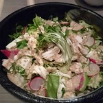 59780542 - 蒸し鶏と豆腐のゴマサラダ