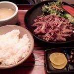 59783883 - 焼肉定食(塩)