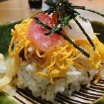 いまふく - お昼のサービス  チラシ寿司