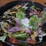 くつろぎ鉄板酔縁 - 野菜サラダ