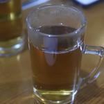 くつろぎ鉄板酔縁 - 暖かいお茶