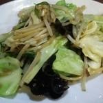 筋斗雲 - 季節の野菜の香り炒め