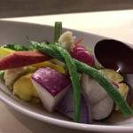 和膳と酒肴 廚 - 横須賀野菜の揚げ出し2016.12再訪