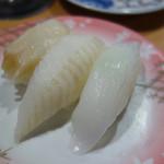 回転寿司 花いちもんめ - 白三昧