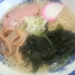 塩の里 - 山塩ラーメン(650円)
