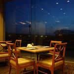 ANAクラウンプラザホテル稚内 - まだ外も暗い早朝です