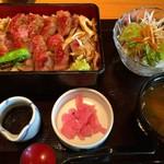 関サービスエリア(上り線)レストラン「かごの屋」 - 飛騨牛、3700円!!!!!