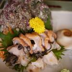海鮮料理 竹ノ内 - サザエ刺身
