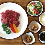 焼肉ダイニング GYUBEI - ハラミ焼肉ランチ《サラダバー&ライス食べ放題付》 ハラミを存分にご堪能いただけるホルモン焼肉ランチセットです。