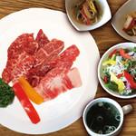 焼肉ダイニング GYUBEI - 【25食限定】牛ヒレ焼肉ランチ《サラダバー&ライス食べ放題付》 柔らかな牛ヒレの焼肉ランチセットです。1日25食限定のセットですのでお早めにご来店ください!