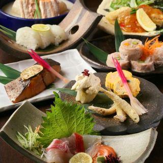 魚が美味い福島の居酒屋さんで宴会