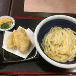 こがね製麺所 - 釜玉うどん(*゚∀゚*)380円