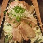 59795863 - 豚肉の生姜焼き