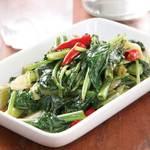加納食堂 - 青菜炒め