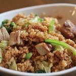 加納食堂 - 豚バラ青菜チャーハン
