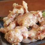 加納食堂 - 鶏のからあげチリマヨソース