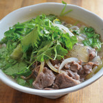 加納食堂 - 牛肉のフォー