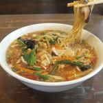 加納食堂 - 酸辣湯麺